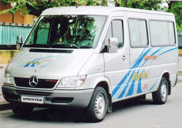 Xe 16 chỗ Mercedes